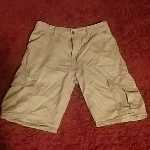 Men's Levis Cargo Khaki Shorts